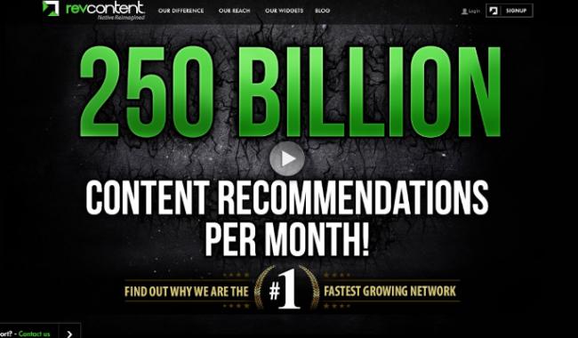 Revcontent TORO Advertising