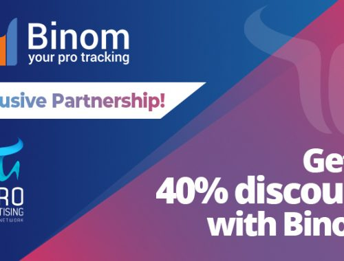 Binom Tracker offers a 40% discount