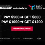 Adskeeper bonus